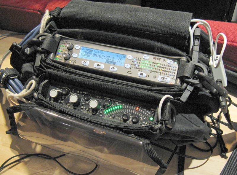Audio Recording Live Equipment