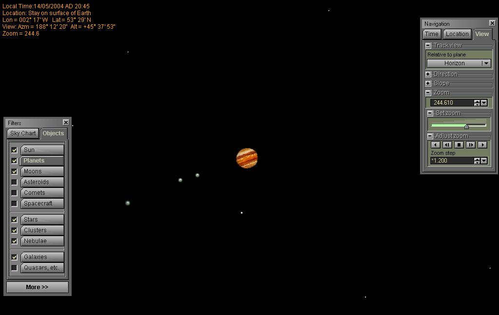 Software Review - RedShift 4: Desktop Planetarium